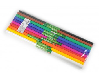 Krepový papír KOH-I-NOOR sada 10 ks barevný mix