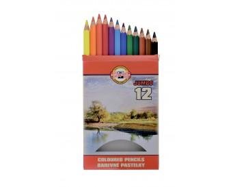 Pastelky Omega 3372 silné 12 barev