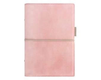 Diář Filofax osobní Domino Soft pastel. růžová