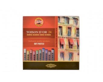 Křídy prašné Toison D´or 8514 24 barev