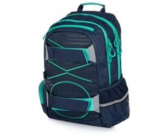 Studentský batoh OXY Sport PASTEL LINE Green 2019