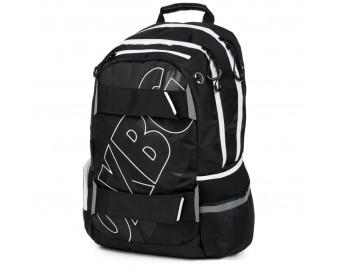 Studentský batoh OXY Sport BLACK LINE White 2019